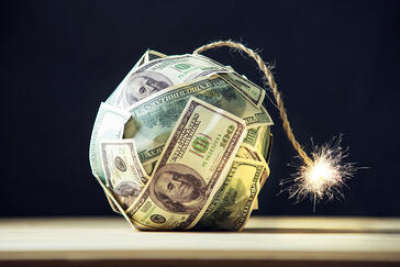 The U.S. dollar is headed for major inflation. We explain why commercial real estate is a hedge against inflation.